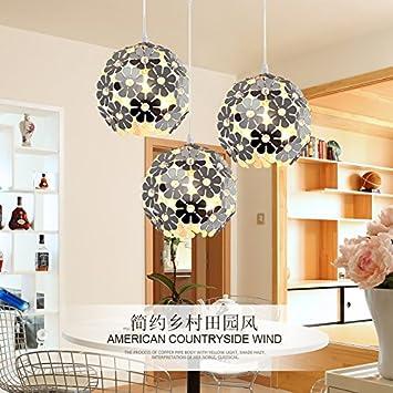 LAMPADARIO Illuminazione Ristorante Tre LED Del Pendente di BALCONE ...