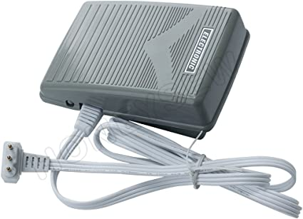 Newhome Foot Control Pedal 3 Prong Cord Fits Janome 1600P 1600P-DB 1600P-DBX