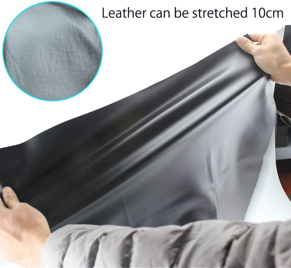 MOTOBA Elastic Leather Motorcycle Seat Cover Universal Motorcycle Flexible Seat Protector DIY with Thumbscrew 100 x 70 cm//39.37 x 27.56 inch
