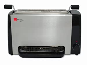 Ronco Ready Grill Indoor Cooking Grill with Grill Basket and Recipes