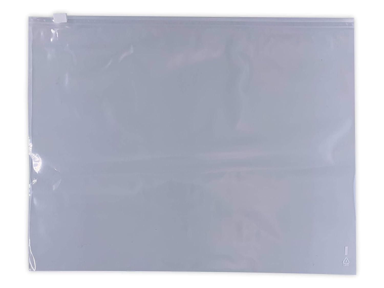 50 tiene bolsa cursor 40 x 30 cm bolsa con corredera puede volver a cerrar de autocierre de corredera 400 x 300 mm