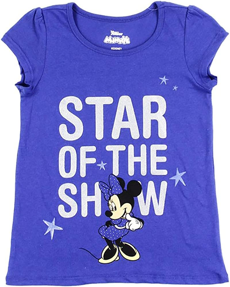 Star of The Show Minnie Mouse Fashion Top for Girls
