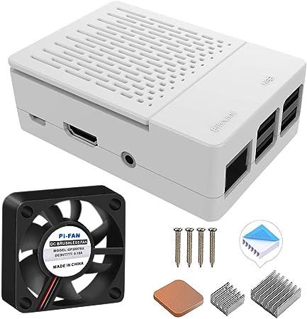 Geeekpi Gehäuse Für Raspberry Pi 3 Modell B Mit Computer Zubehör
