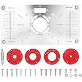 Roteador multifuncional de liga de alumínio Mesa de inserção Placa Trimmer Máquina ferramenta de gravação Bancadas para carpi