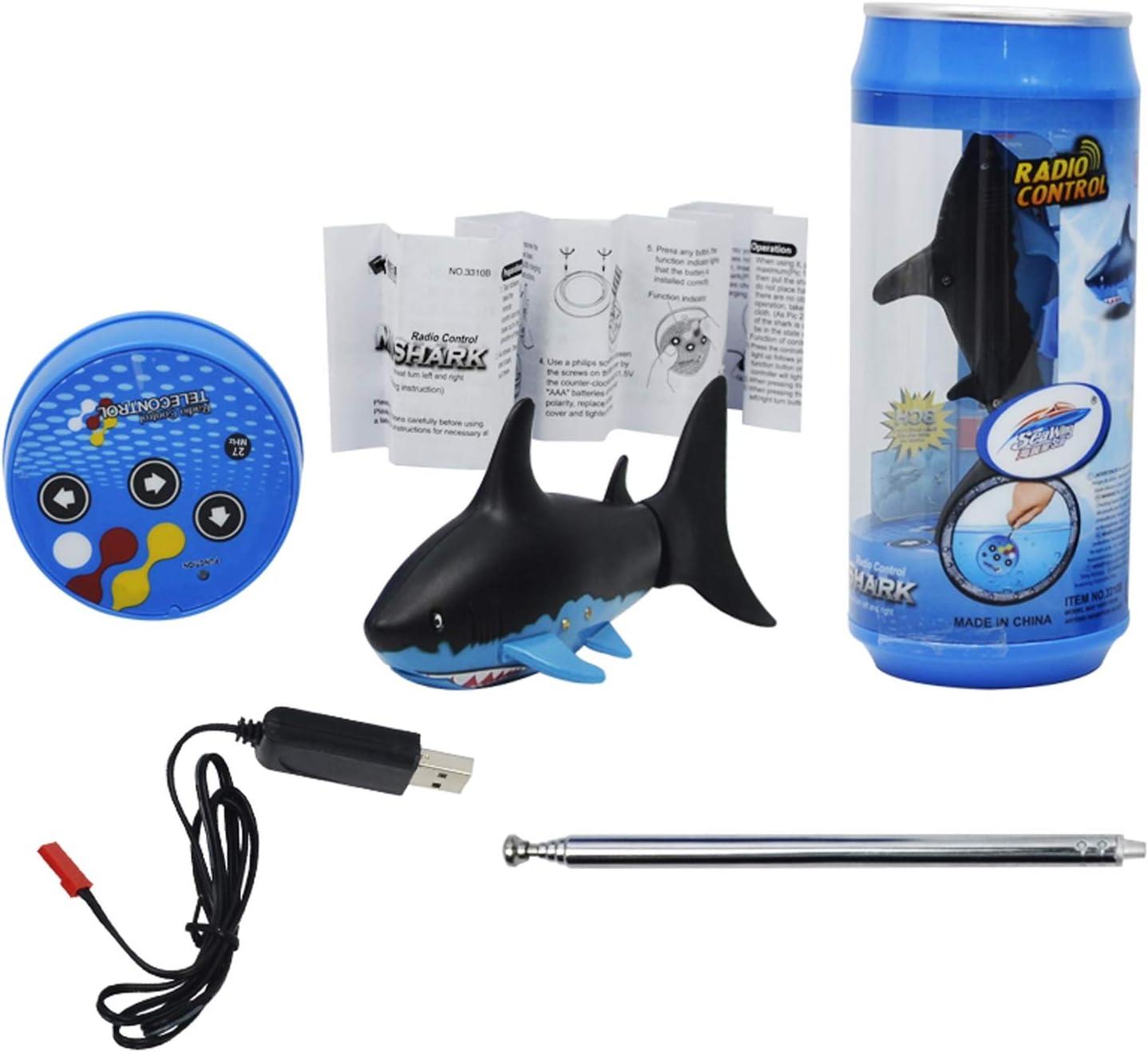 XUMING Control Remoto Shark Mini Toy, Modelo de simulación de ...