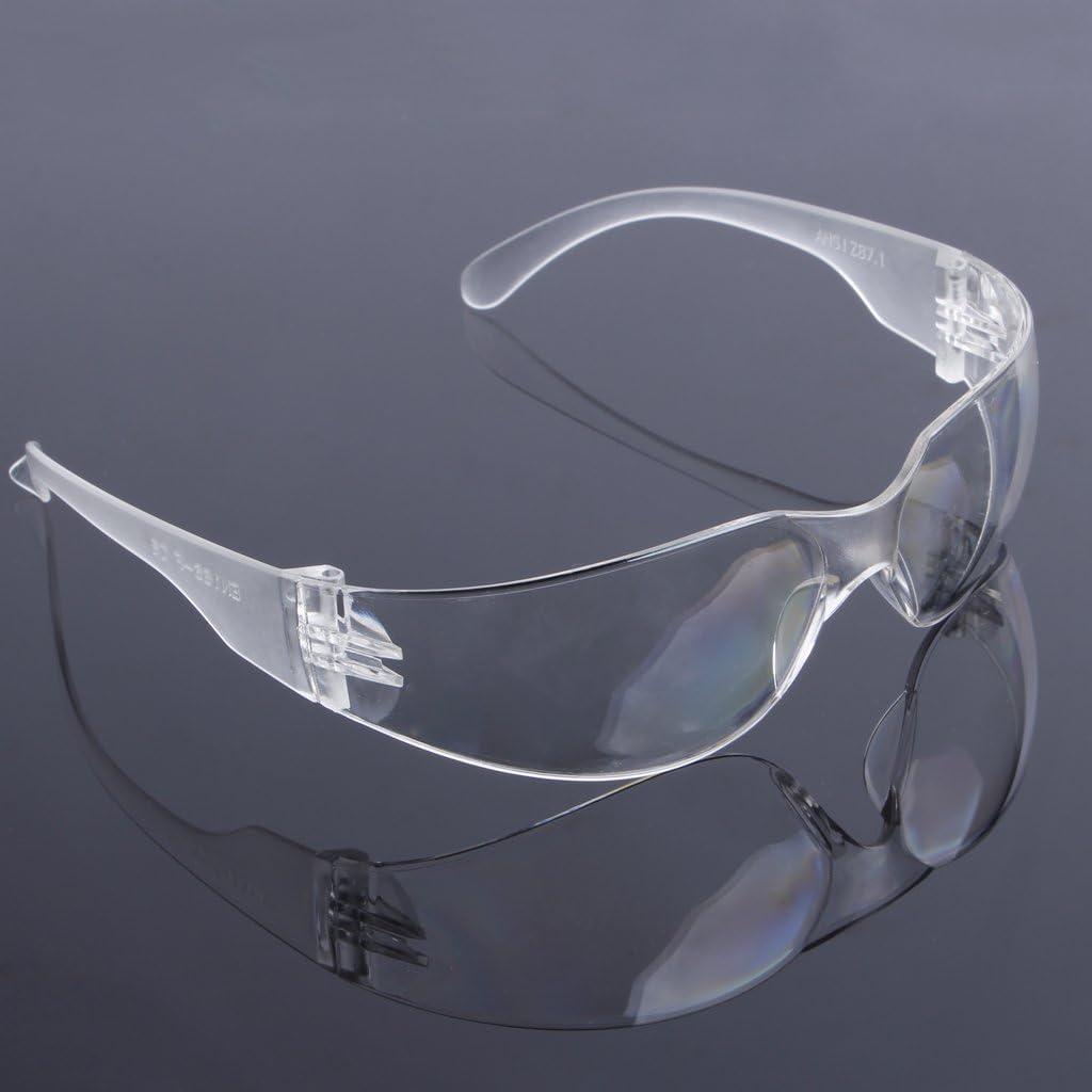 Transparent Guoyy Travail Dentaire Lunettes de s/écurit/é Lunettes Lunettes de Protection Lunettes de Protection