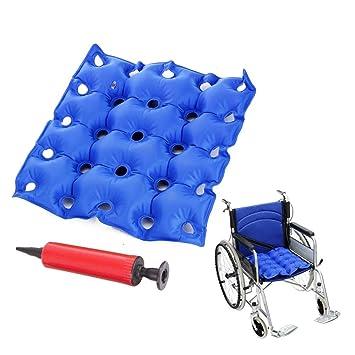 Decubitus - Cojín hinchable para silla de ruedas, coche, oficina ...