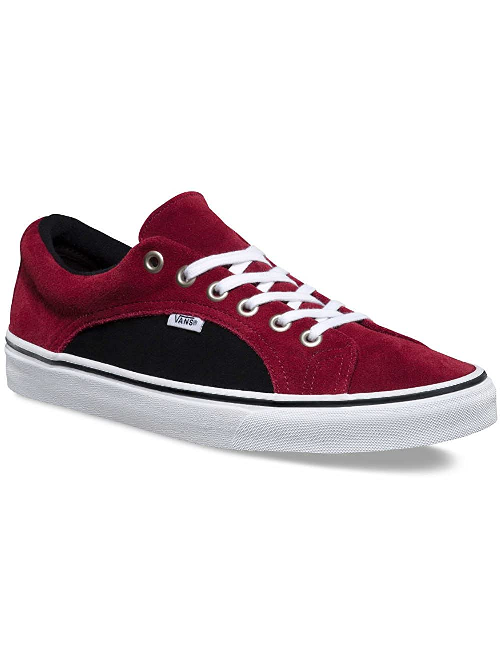 998164f79b9be Amazon.com | Vans Lampin Mens 11.5 Two Tone Suede Port Royale Red ...