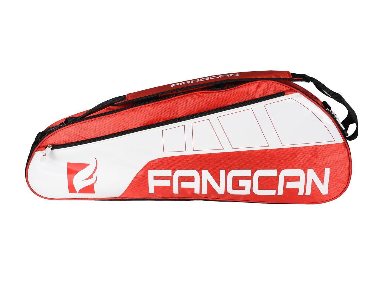 格安即決 Fangcanテニスバドミントンラケットバッグ レッド レッド B00F37WF80, サクシ:32aa86d7 --- arianechie.dominiotemporario.com