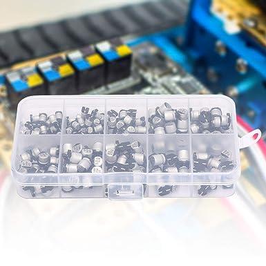 20 pz Condensatore Elettrolitico 1 uF 50V SMD SMT Condensatori Elettrolitici