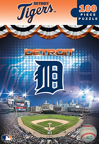 [MasterPieces MLB Detroit Tigers Jigsaw Puzzle, 100-Piece] (Detroit Tigers Costume)