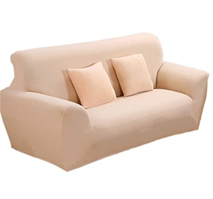 Excellent Argstar Love Seat Cover Stretch Light Peach Home Decor Furniture Protector Pabps2019 Chair Design Images Pabps2019Com