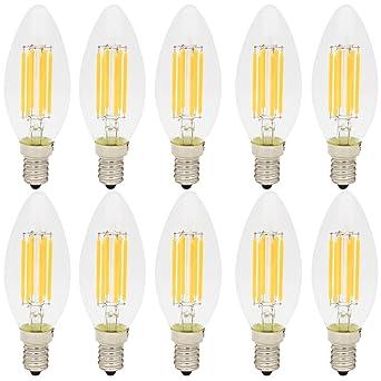 Tres 10x 500lm Blanc Chaud 220v 6w Lampe Vintage Led E14 Lumineux Filament Edison Retro 2700k Ampoule Ac C35 LpSUzqVGM