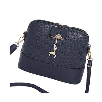 f796470e0 Kolylong Fashion Women Handbag Shoulder Bag Mini Tote Ladies Purse (Blue  2): Amazon.co.uk: Beauty