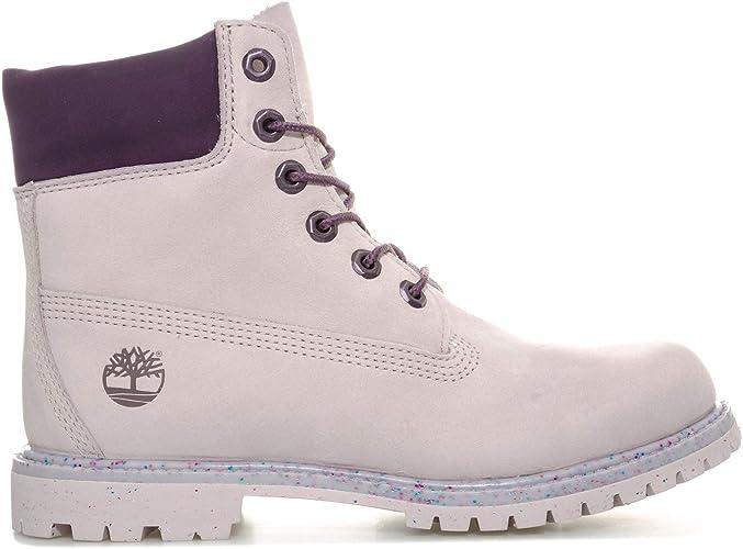 barco perfil Inocente  Timberland Premium - Botas para mujer de 6 pulgadas, color lila, Morado  (Lilas), 38.5 EU: Amazon.es: Zapatos y complementos
