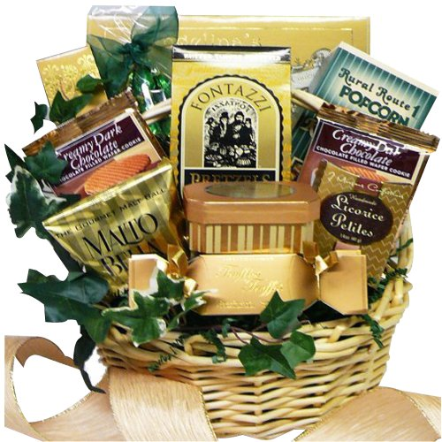 Art of Appreciation Gift Baskets Sweet Sensations Cookie, Candy and Treats Gift Basket, Small (Candy)