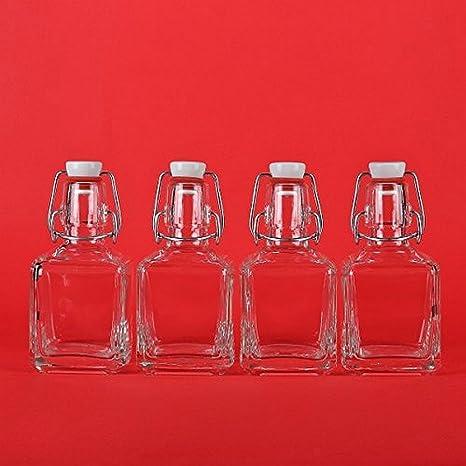 20 x botellas de vidrio vacías botellas de 200 ml (Bügel) con la correa