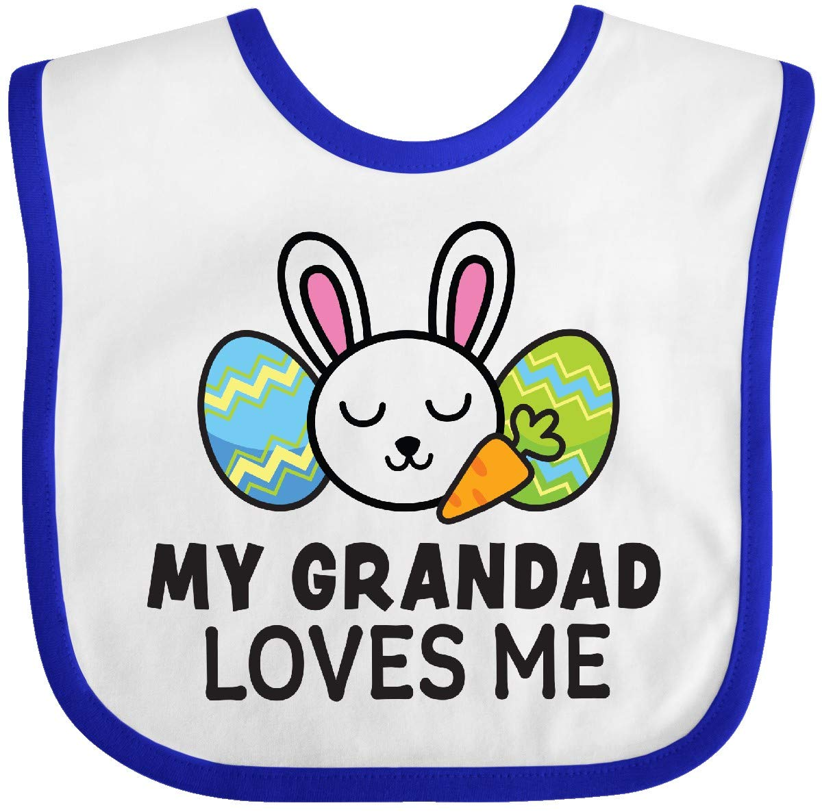 inktastic My Grandad Loves Me with Bunny and Easter Eggs Toddler T-Shirt