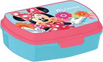 Disney Minnie Mouse Caja de Almuerzo Sandwich Oficial: Amazon.es ...