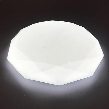 zhma plafoniera led, plafoniere 16w 5500k bianco freddo, 220v ... - Lampadari A Soffitto Per Camera Da Letto