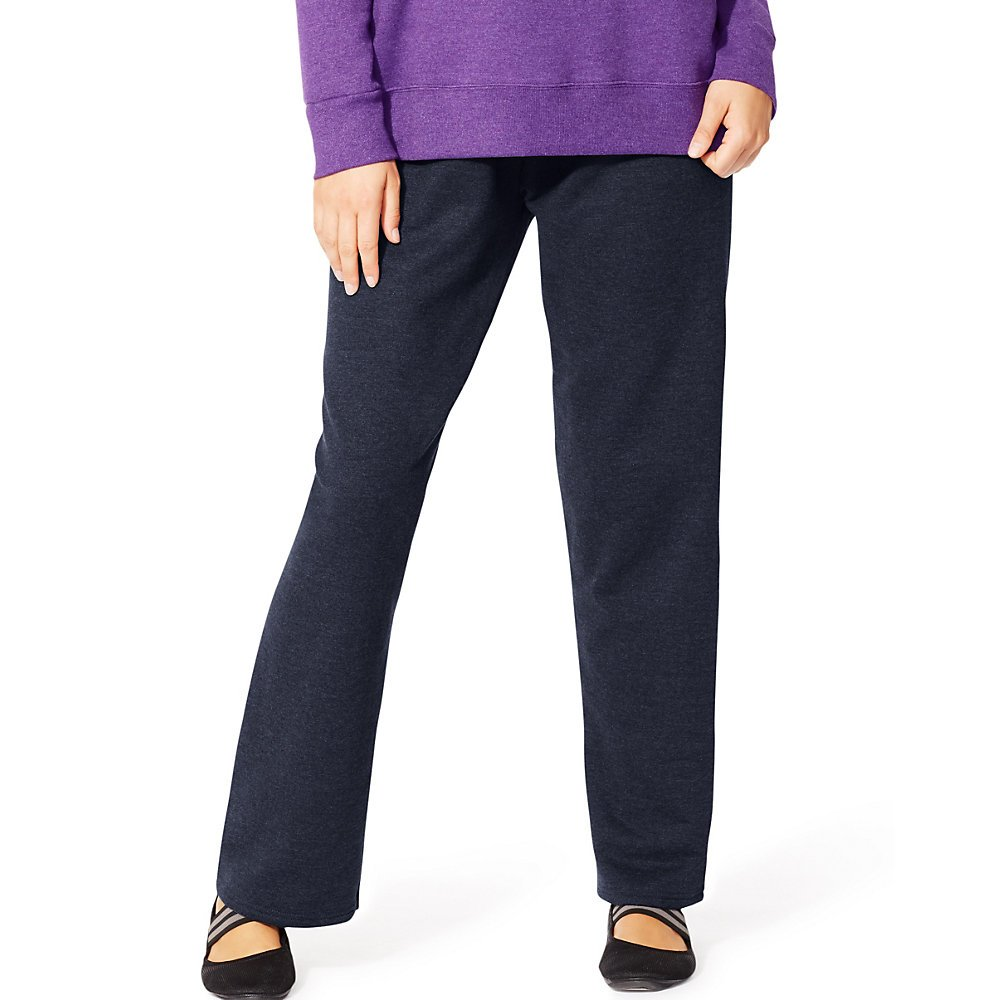 JMS Women's EcoSmart Fleece Open-Hem Sweatpants