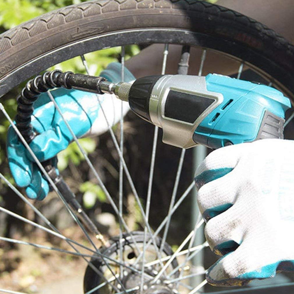 Leoboone Eje cardán flexible Taladro eléctrico Destornillador de mano eléctrico Punta de extensión Varita Conexión de manguera Eje suave: Amazon.es: Bricolaje y herramientas