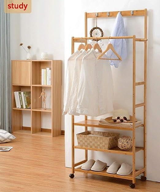 Amazon.com: XQY Perchas de secado para zapatos, de bambú ...