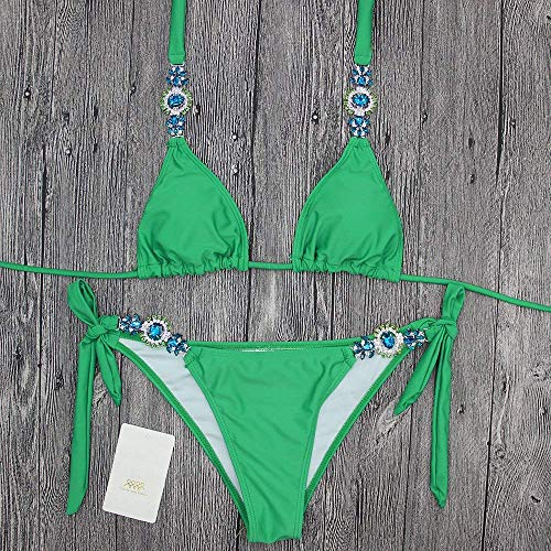 Uniti colore Divisa Bagno Dimensione Da Il Stati In Per Costume Verde Fascia Fuweiencore E Diamanti europa L Bikini A Fasciatura Bikini S YqTUUf
