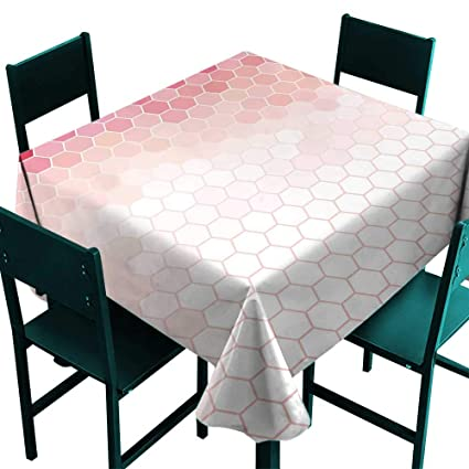 Tremendous Amazon Com Glifporia Table Covers Light Pink Hexagon Forms Interior Design Ideas Gentotthenellocom