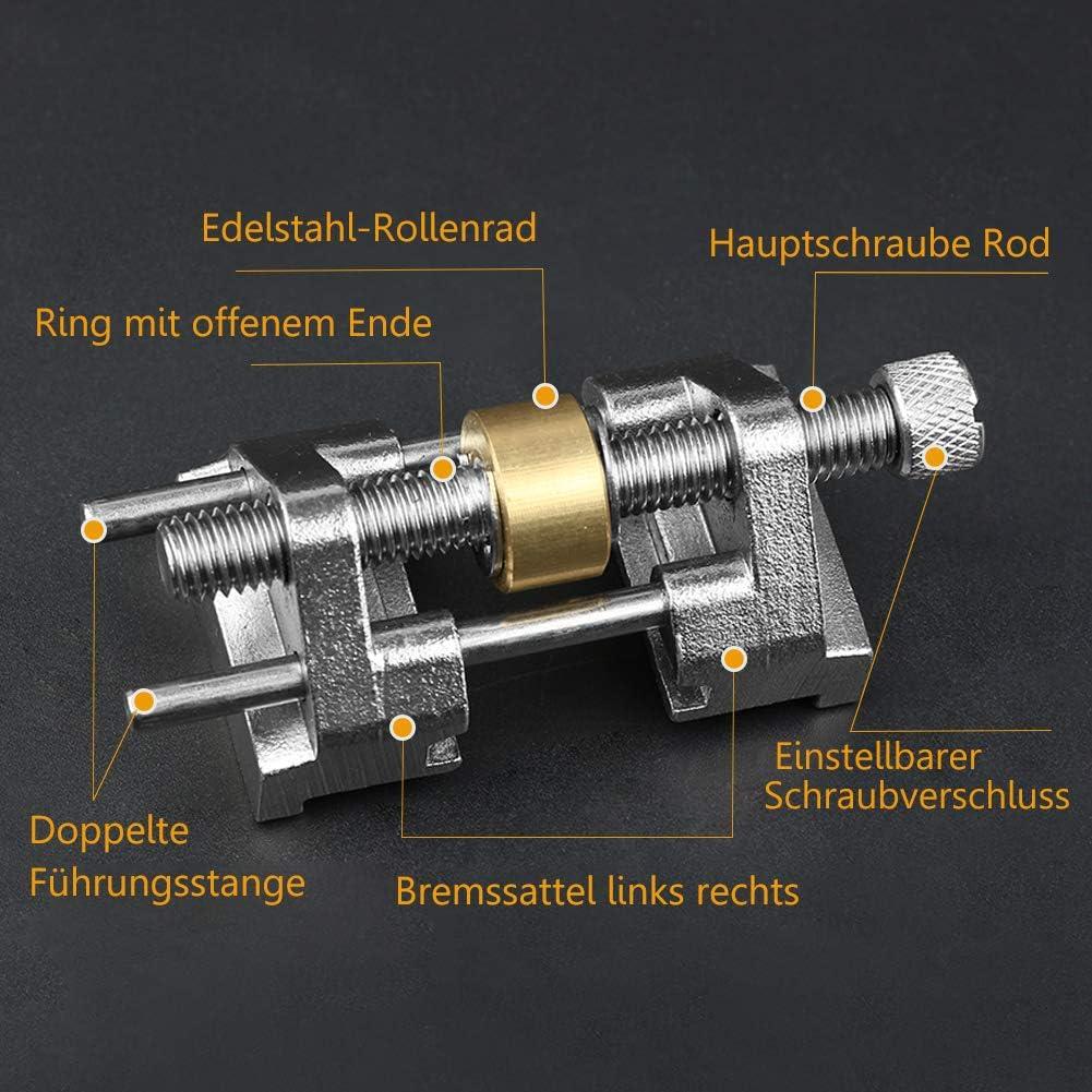 Edelstahl-seitenspannwinkel Schleiff/ührung Stechbeitel Hobelmesser Flachkantensch/ärfung Mit Edelstahl Pulley 1 Pc Fest