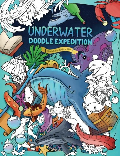 Underwater Doodle Expedition: A Magical Coloring Book