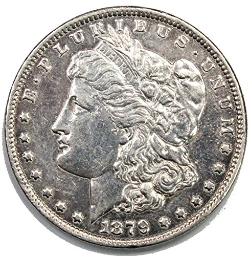 1879 S Morgan Silver Dollar $1 About Unicirculated