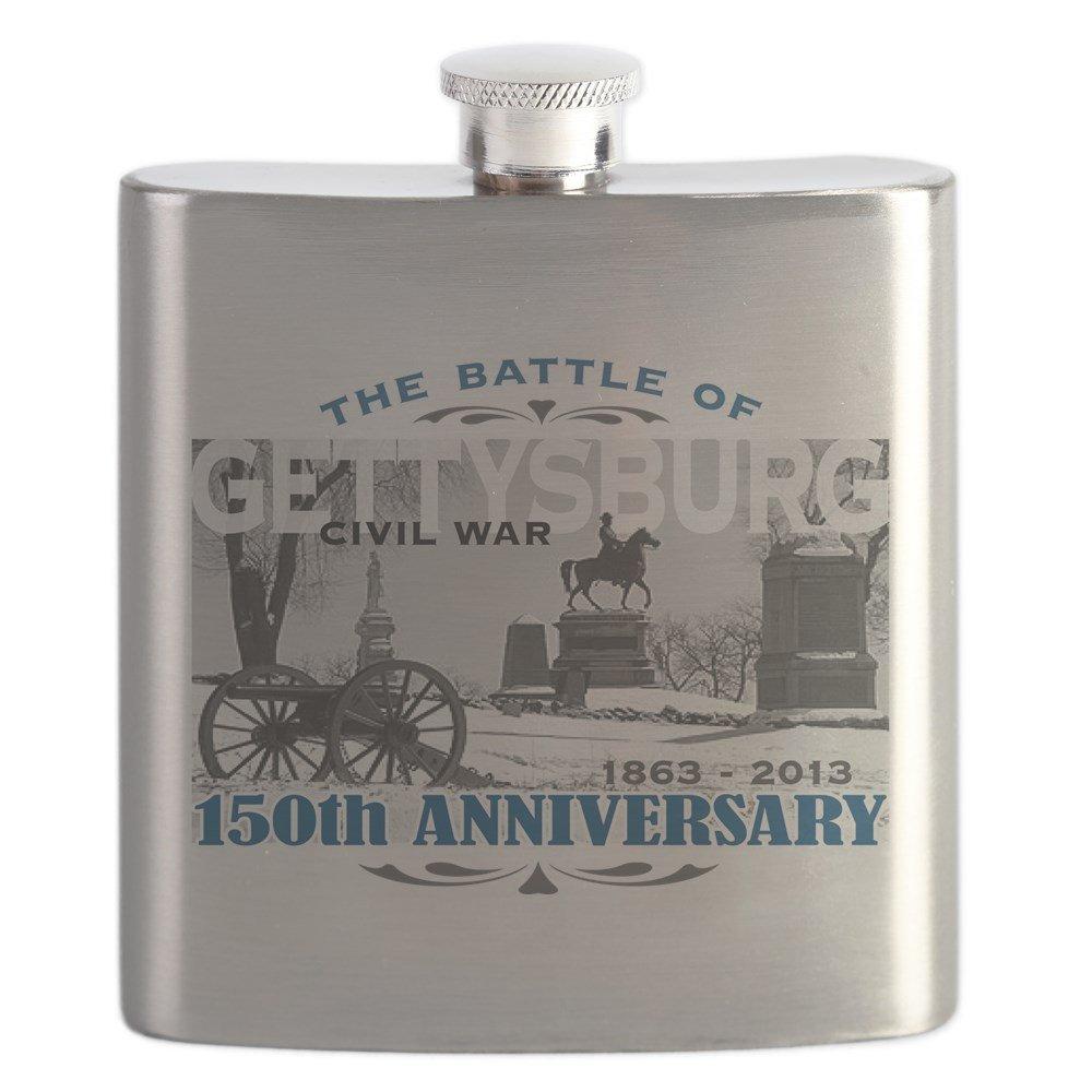 【GINGER掲載商品】 CafePress – 150周年記念Gettysburg Battle – – Battle ステンレススチールフラスコ、6オンスDrinkingフラスコ CafePress B01IUFB7B2, アクセサリーショップfarice:6fe1eb1f --- cafestar.in