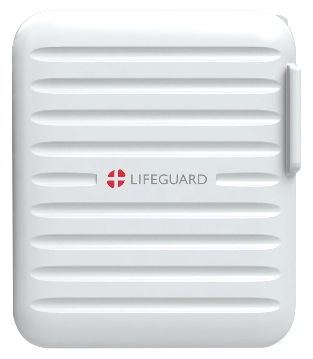 plusLIFEGUARD Dual USB Wall Charger 3.1A with Plus IQ Technology, White