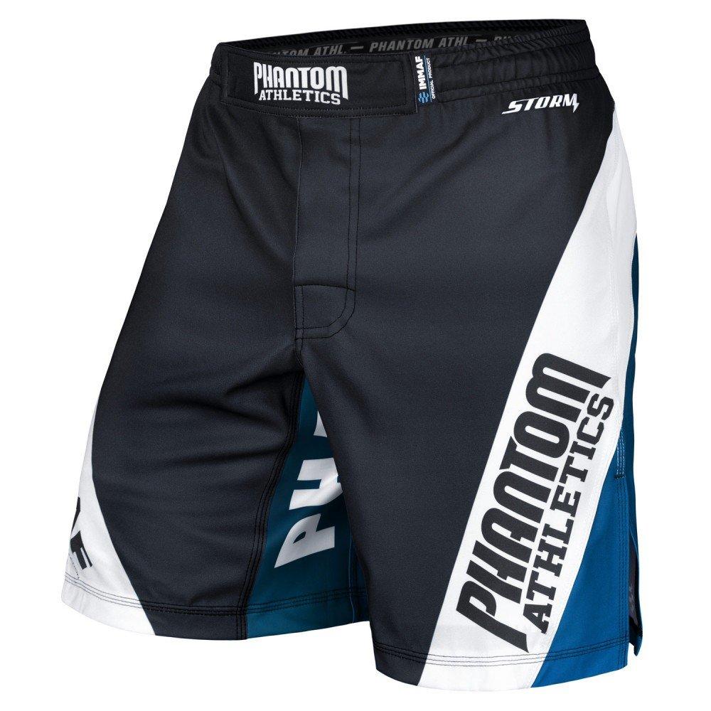 Phantom Athletics Fightshorts, Storm, IMMAF, schwarz, MMA Short, Hosen, Kickboxen