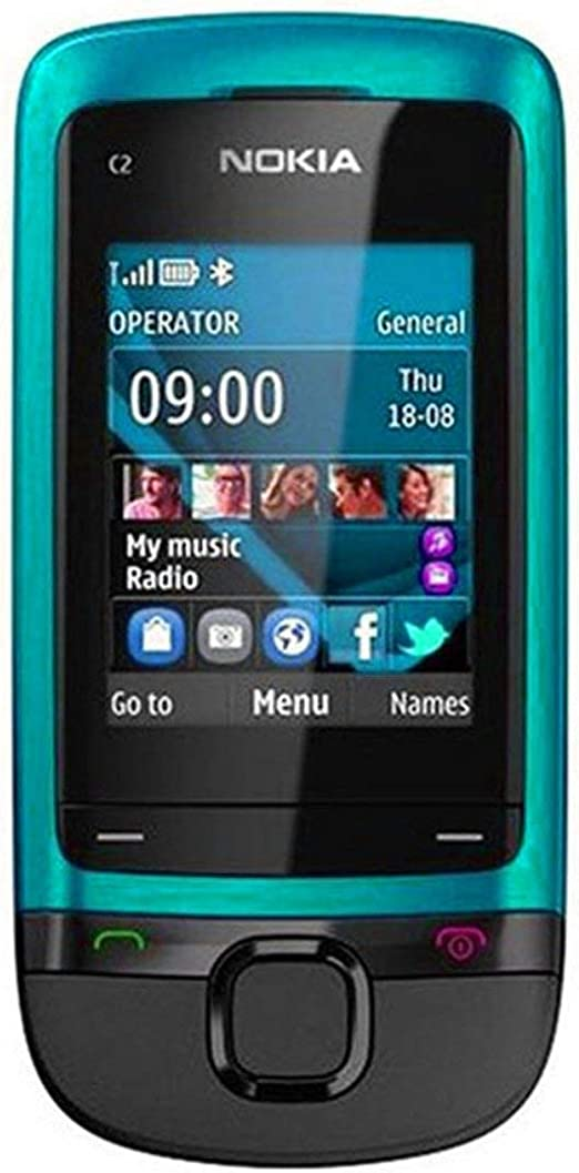Lorenlli Original para Nokia C2-05 0.3MP cámara de Radio gsm 900 ...
