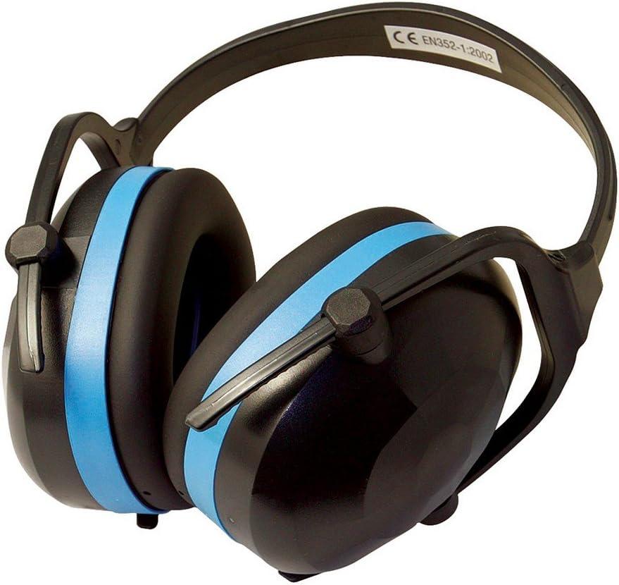 klappbarer Gehörschützer Silverline Kapselgehörschutz SNR 30 dB Gehörschutz