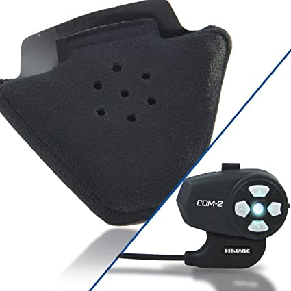 62c3f98c79e Amazon.com: Outlaw Audio Speaker Ear Insert Comfort Pads with Hawk COM-2  Bluetooth Intercom - One Size: Automotive