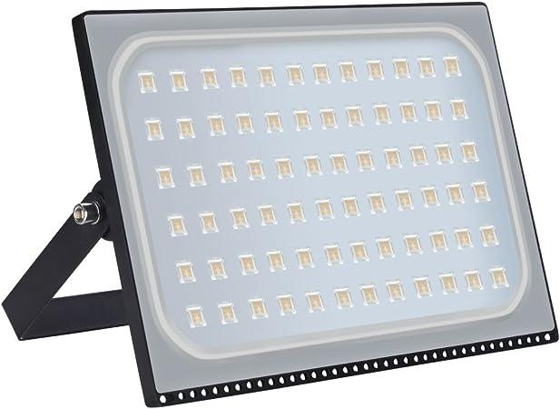 5X 200W LED Flood Light Warm White Outdoor Spotlight Garden Yard Lamp New IP67