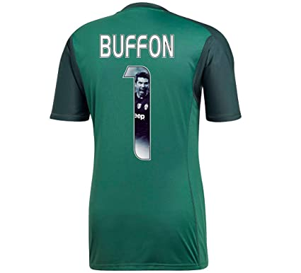 the latest 9a958 4cf70 adidas Juventus Home Buffon 1 Goalkeeper Jersey 2018/2019 (Gallery Style  Printing)