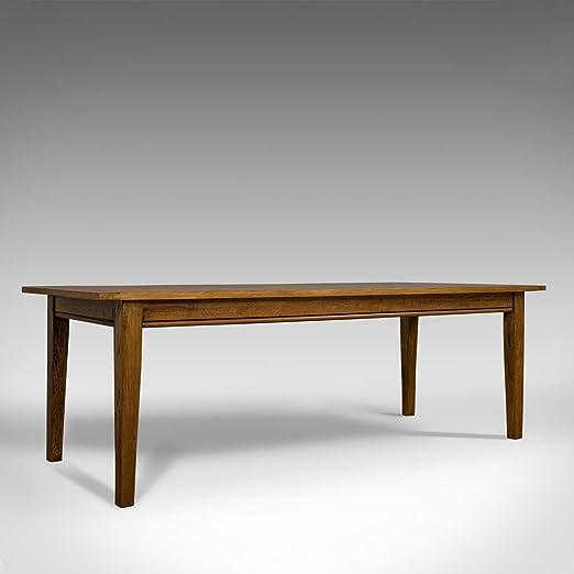 Mesa de Comedor Grande y Antigua, Roble, inglés, Victoriano, 8 ...