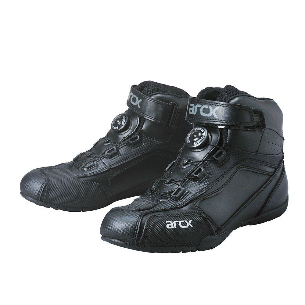 [해외]늦은 상회 Arcx (아 르 크 스)이 최고의 라이 딩 슈즈 블랙 28.5 cm RB141 / Late Shokai ARCX (Arkes) a top riding shoes black 28.5 cm RB141