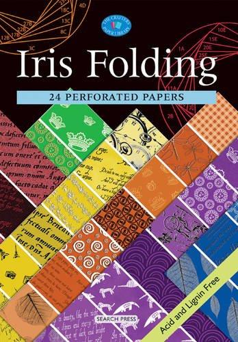 Iris Folding (Crafter's Paper Library) - Iris Folding Book