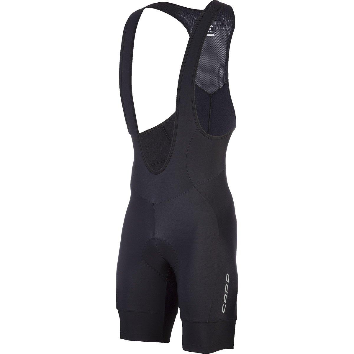 Capo Pursuit Roubaix Bib Shorts Black, XL - Men's
