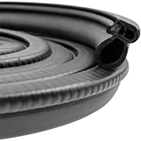 Automotive Door Rubber Seal Trim Seal Strip with Side Bulb for Cars, Boats, Trucks, RVs, and Home Applications - PVC…