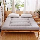 Colchão de Futon japonês macio, não deslizante, espesso, colchão japonês, tapete de tatami, tapete de chão dobrável, colchão