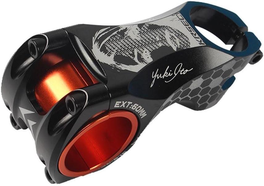 homedecoam 6 Degree Adjustable Bicycle 31.8mm Handlebar Bike Stem for Mountain Bike and Road Bike
