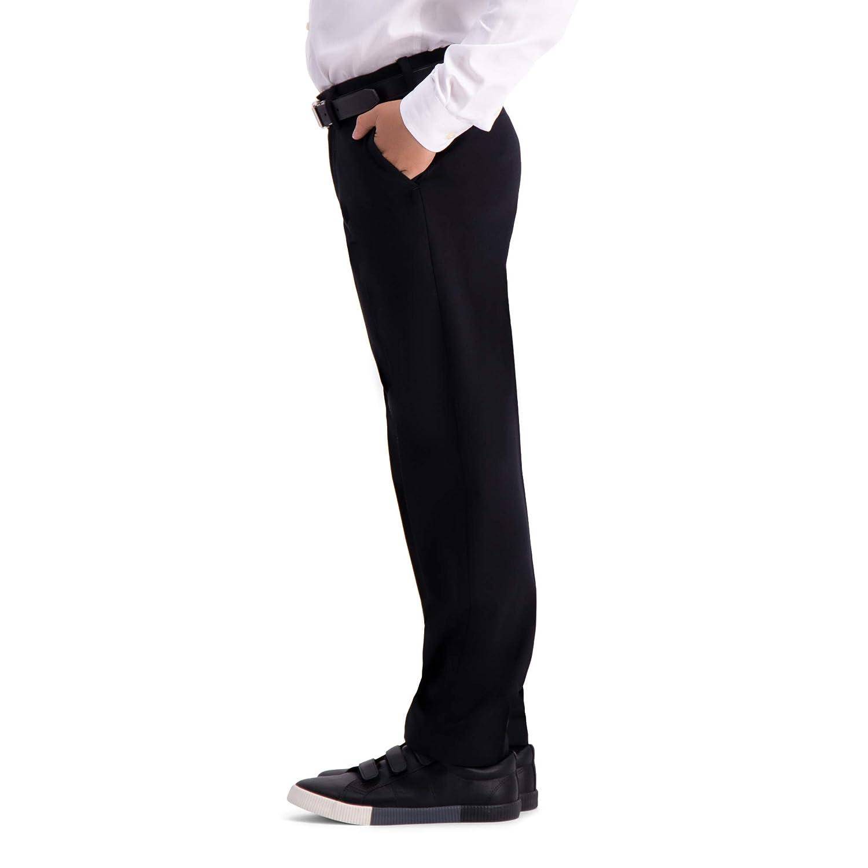 Haggar Big Boys Youth Regular 8-20 Premium No Iron Khaki Pant