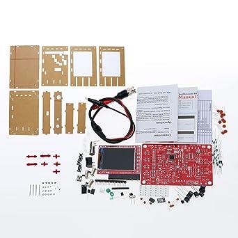 KKmoon DSO138 2.4 TFT Handheld Taschenformat Digitales Oszilloskop DIY Teile Acryl DIY Case Cover H/ülle f/ür DSO138