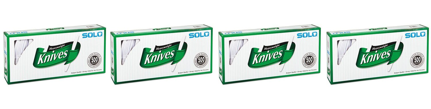 Solo, Heavyweight Plastic Knives OlYDc 2000 Count
